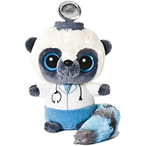 Aurora World - YooHoo médico, peluche, 12.7 cm, color blanco y azul (13052)