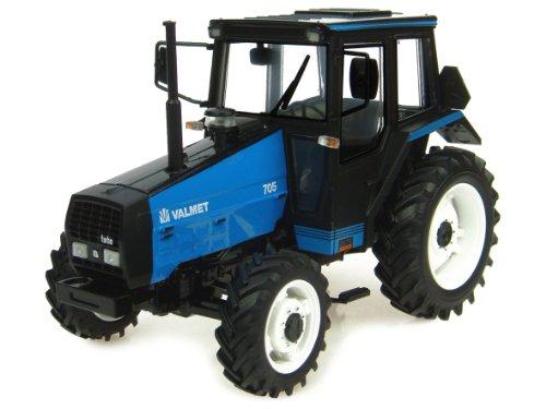Universal Hobbies 4019 - Sammlermodell Valmet 705 blau 1/32 aus Metall