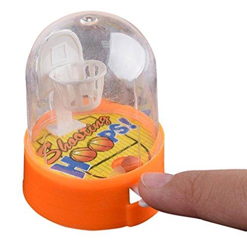 Sonnena Spielzeug, Baby Kinder Basketball Maschine Spielzeug Mini Handheld Korb schießen Spielzeug Toddler Pädagogisches Geschenk (A)