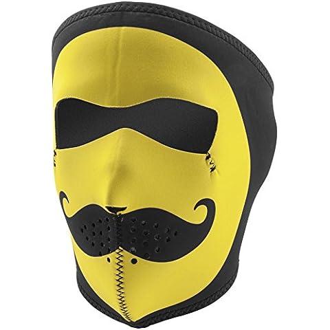 ZANheadgear Máscara de Neopreno para Moto, Quad, Esquí y Snowboard WNFM087