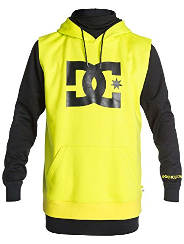 DC Shoes Herren Fleece Top Dryden M OTLR KVJ0 Lime Punch