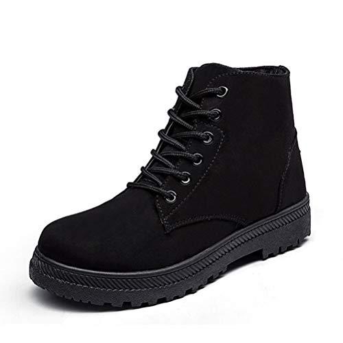 l warm Knöchel Stiefel Kausale Winter Schuhe warm Schnürschuh Schuhe Outdoor-Wanderschuhe ()