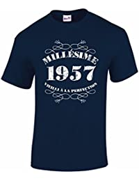 T-Shirt Anniversaire Homme 60 Ans Millésime 1957