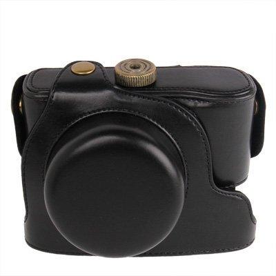 Schutzhülle Case für Olympus XZ-2 XZ1 Zubehör Cover Bag Digitalkamera Leder Optik Tasche Hülle Kamera Retro Zubehör