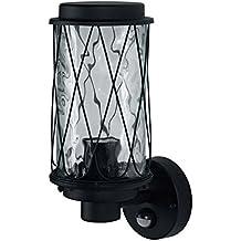 Osram LED Wand- und Deckenleuchte, Leuchte für Außenanwendungen, Sockel E27, Integrierter Tageslicht- und Bewegungssensor, Endura Classic Cage Up Sens