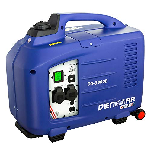 DENQBAR 3,3 kW Inverter Stromerzeuger Notstromaggregat Generator mit eBLUE® Technologie & E-Start