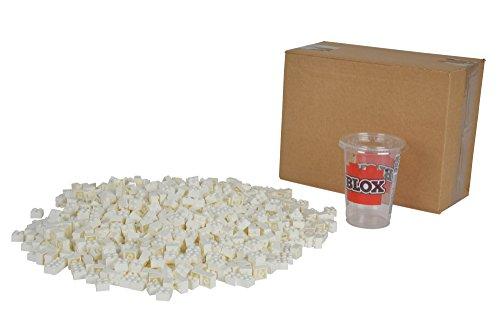 Simba 104114119 - Blox 1000 4er Steine, Spiel, weiß
