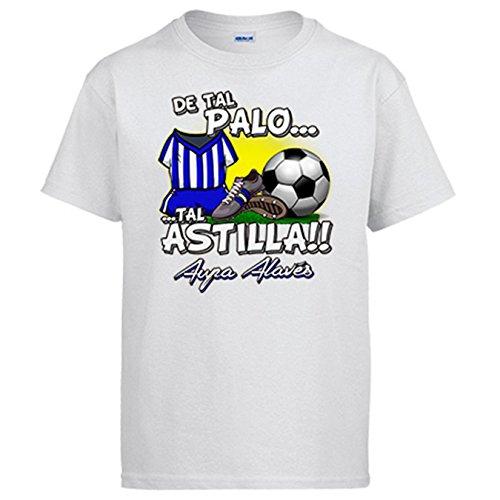 Camiseta De tal palo tal astilla Alaves fútbol - Blanco, S