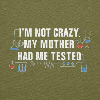 Texlab–I m Not Crazy–sacchetto di stoffa Oliva