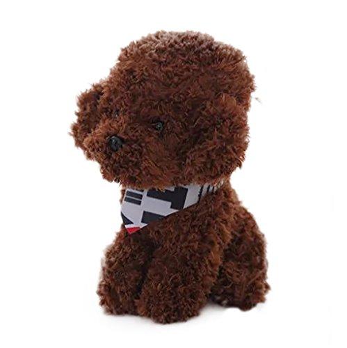 JYJMStofftier weiches Baby Puppe schöne Plüsch Puppe niedlich Hundespielzeug Baby Puppe Teddy Hundespielzeug Plüsch Puppe...