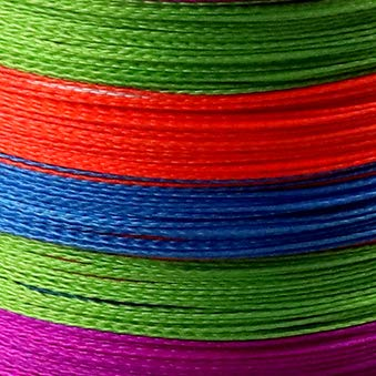HATCHMATIC JOF 300M 500M 1000M 4 Strang 10-80LB PE Geflochtene Angel Draht Angelschnur Multicolor: Multicolor, 500M-0.40mm-60LB