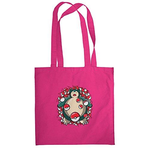 Texlab–American Snore–sacchetto di stoffa Pink