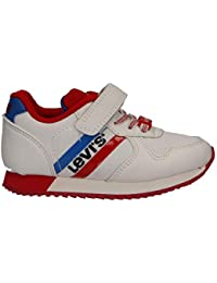 6edaf57adf5 Levi s Boy and Girl Sports Shoes VSPR0003T Springfield 2665 White
