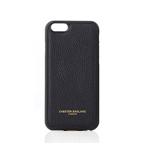 iPhone 6Case-Premium Echt Leder Snap on Case für Apple iPhone 6von Chester England: Chester schwarz. Moderne, Stilvolle und Elegante.