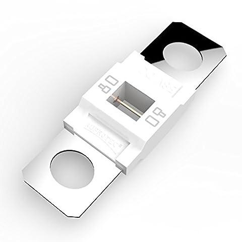 Auprotec® MIDI fusibles pour courant de forte intensité à visser 40A - 100A choix: 80A Ampere blanc, 1 pièce
