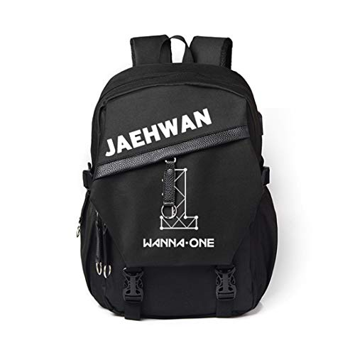 efac4b011b2a Wanna ONE Unisex Canvas Backpack Shoulder Schoolbag Travelling Bags  Charging Sports Bags Laptop Backpack Travel Laptop Backpacks with USB  Charging ...