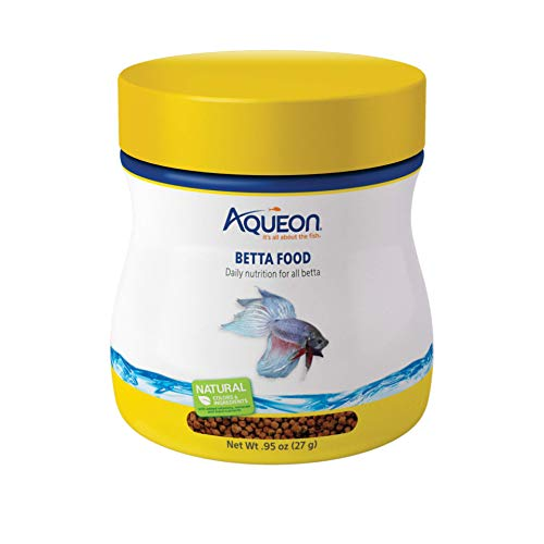 Aqueon Betta Food Pellets, 0.95-Ounce -
