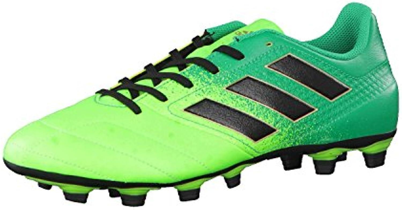 adidas Herren Ace 17.4 Fxg für Fußballtrainingsschuhe  Grün Versol/Negbas/Verbas  46 EU
