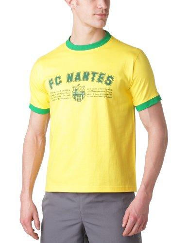 Spider Capo Spezial-Griff kurz Herren-T-shirt mit Logo Large Gelb - Gelb / Grün (Spider T-shirt Grünen)