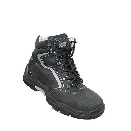 Artus tamino chaussures de sécurité norme s3 sRC berufsschuhe businessschuhe 00823 chaussures haut en noir Noir - Noir