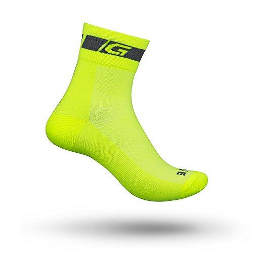 GripGrab Radsport Classic Regular Cut Socke Gelb Hi-Vis, Gelb(Hi-Vis), L (44-47)
