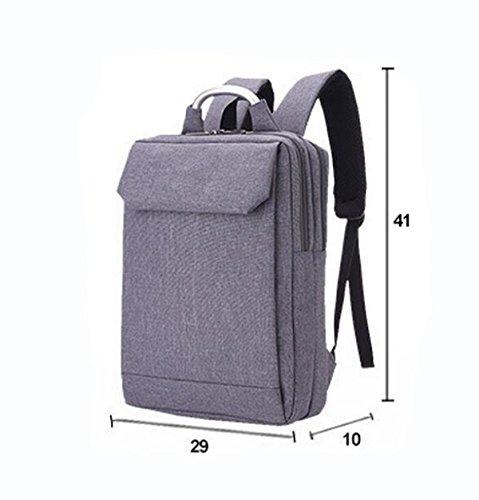 Umhängetasche Geschäft Paket Computer Tasche Rucksack Reise Paket Freizeit Einfache Wilde Große Kapazität Black