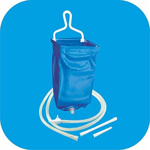 Pflegehome24® Reiseirrigator, 2 Liter, Darmreinigung, faltbar