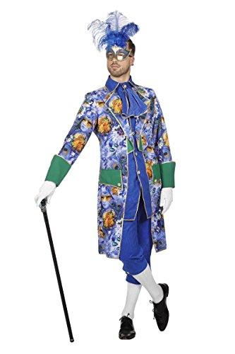 Herren Kostüm Marquis Karneval in Venedig Mottoparty Gr.56 (Karneval In Venedig Kostüme)