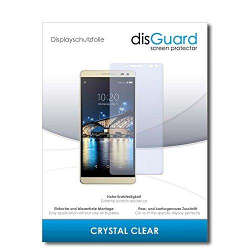 disGuard® Bildschirmschutzfolie [Crystal Clear] kompatibel mit Switel S5003D [2 Stück] Kristallklar, Transparent, Unsichtbar, Extrem Kratzfest, Anti-Fingerabdruck - Panzerglas Folie, Schutzfolie