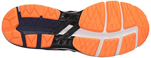 Asics GT-1000 5 Maschenweite Laufschuh Indigo Blue/Hot Orange/Black