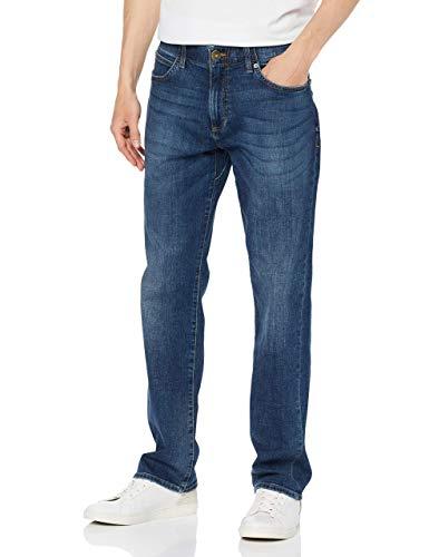 Lee Herren Extreme Motion Straight Jeans, Blau (Maddox Pu), W30/L30 (Herstellergröße: 30/30) - Lee Stretch-denim