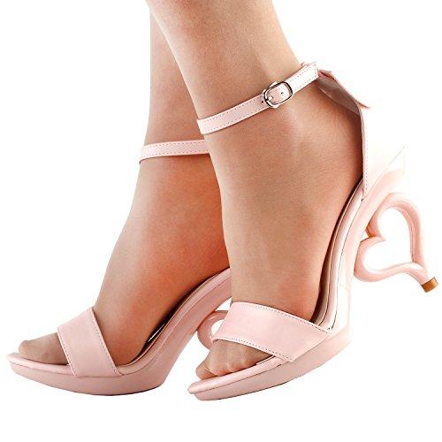 Afficher L'histoire 20 Couleurs Des Fleurs Amovibles Bride À La Cheville Mariée Sandales Chaussures De Mariage, Sm33101 Rose