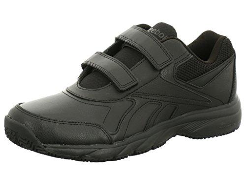 Reebok  WORK N CUSHION KC, Chaussures dathlétisme homme Noir - black (BLK)
