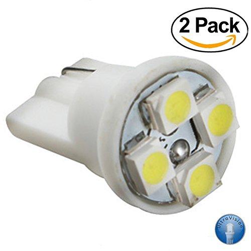 Ultra Vision 5 SMD 501 Nummernschild-Beleuchtung, 12 V, 5 W, 2er Pack - Reinweißes Licht, 6000 K - Beleuchten Sie Ihr Nummernschild im modernen Stil, mit weißem Licht