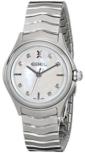 Ebel 1216193analógica Swiss Plateado de cuarzo reloj de la mujer