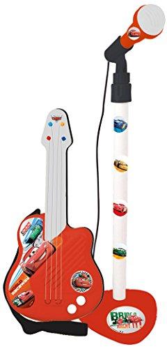 Reig 5309 Cars Gitarre mit Standmikrofon