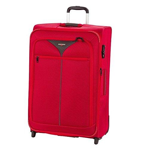Hardware Skyline 3000 2-Rad Trolley 73cm 456 red/grey (Rollen Erweiterbar Koffer Upright)