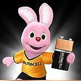 Duracell Plus Power Typ 9V Alkaline Batterien, 4er Pack