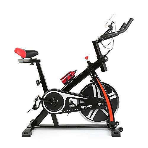 Turefans Schwungrad,Indoor Cycle ,Heimtrainer,Fitness Fahrrad mit 8KG,mit LED-Anzeige (YQ52672_03)