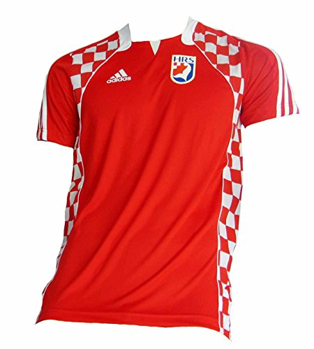 Adidas Croatian Handball Jersey Red red Size:L
