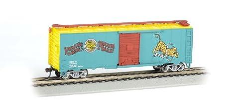 Bachmann Ringling Bros. and Barnum & Bailey 40' Tiger #17 Box Car (HO Scale)