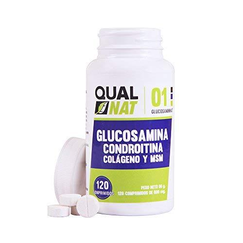 Glucosamina con Condroitina y MSM ✔️ Reduce el dolor de Articulaciones ✔️ Efectiva