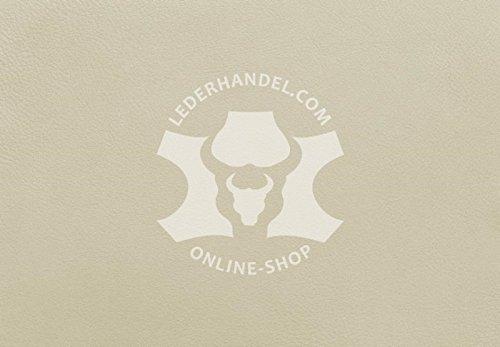 Lederhandel.com Anilinleder altweiß - Silver Muschel (1,8-2,0 mm)