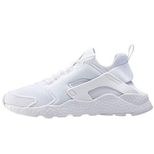 Nike Wmns Air Huarache Run Ultra Br, Scarpe da Ginnastica Donna White White