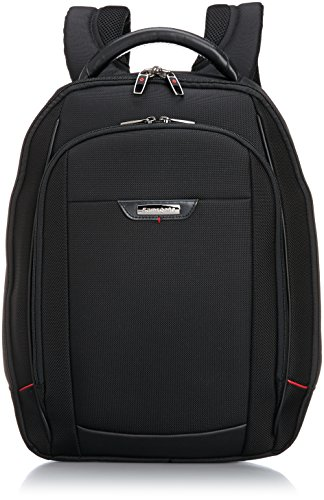 Samsonite Pro-Dlx 4 Trolleys para portátiles, 46 cm, 18 L, Color Negro