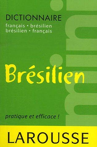 Mini dictionnaire français-brésilien/brésilien-français