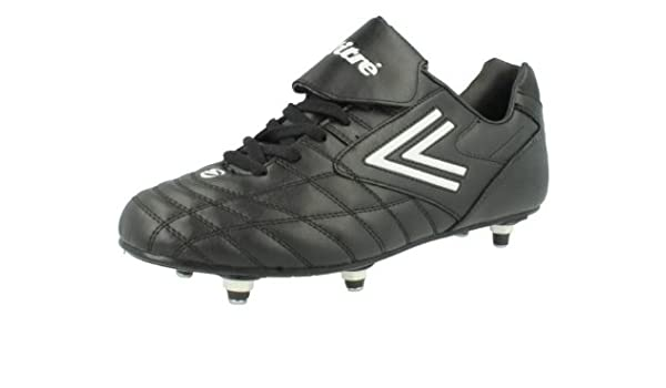 8cece275820d Mens Mitre Football Boots 'Quitto' - Synthetic Leather - Black/White - UK  Shoe Size 8: Amazon.co.uk: Shoes & Bags