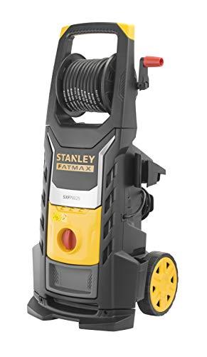 Stanley Fatmax SXFPW25PE Hochdruckreiniger, 2500 W, 150 bar, 450 l/h, Induktionsmotor, Messingkörper und große Räder