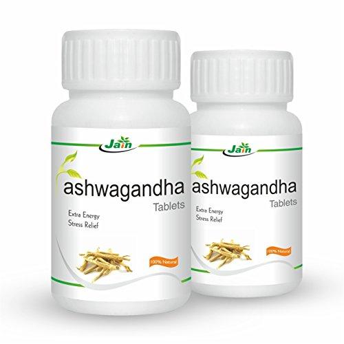 Jain Ashwagandha, 850 mg - 60 Tablets (Pack of 2)