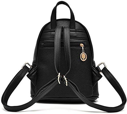 Redlicchi Cute Mini PU Leather Backpack Fashion Small Daypacks Purse for Girls and Women Image 3